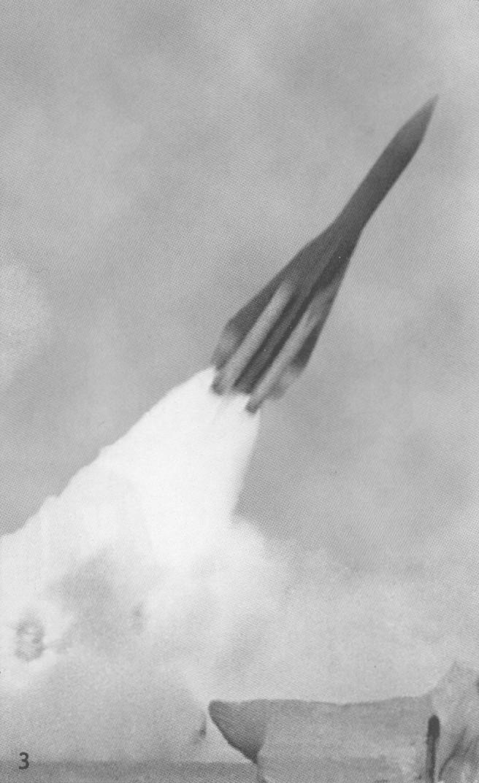 Старт ракеты 5В21А на полигоне