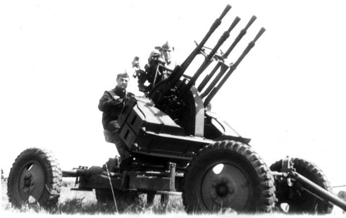 Meng Model SPS-026 Russian Light AA Gun Set ZPU-1 + ZPU-2 + ZPU-4 ... | 442x700