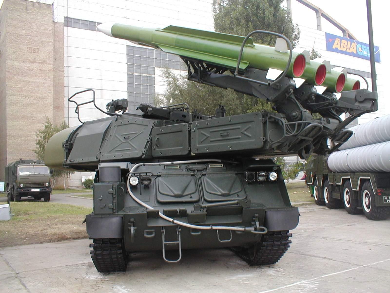 Resultado de imagen de misil 9M38,