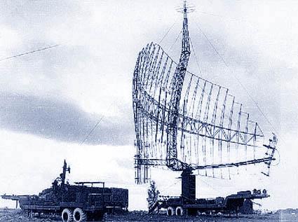 Тактико-технические данные РЛС 5Н84.